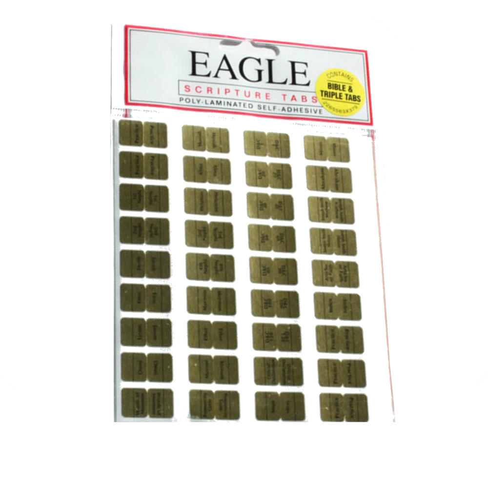 Triple Combination Scripture Tabs - EMA-10500