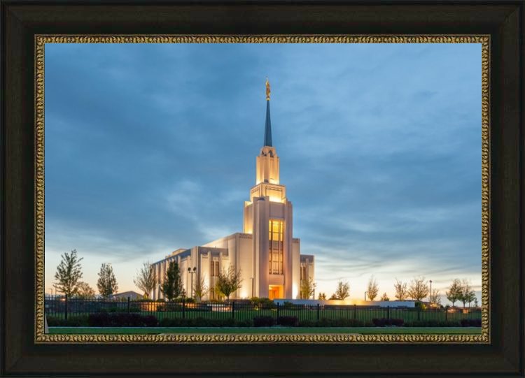 Twin Falls Temple - Evening - LDP-RB128TFTE