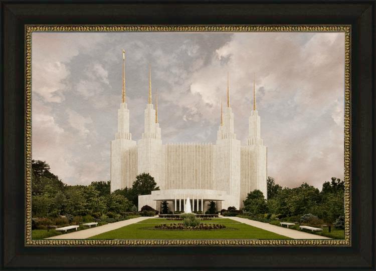 Washington D.C. Temple - Textured - LDP-RB01602