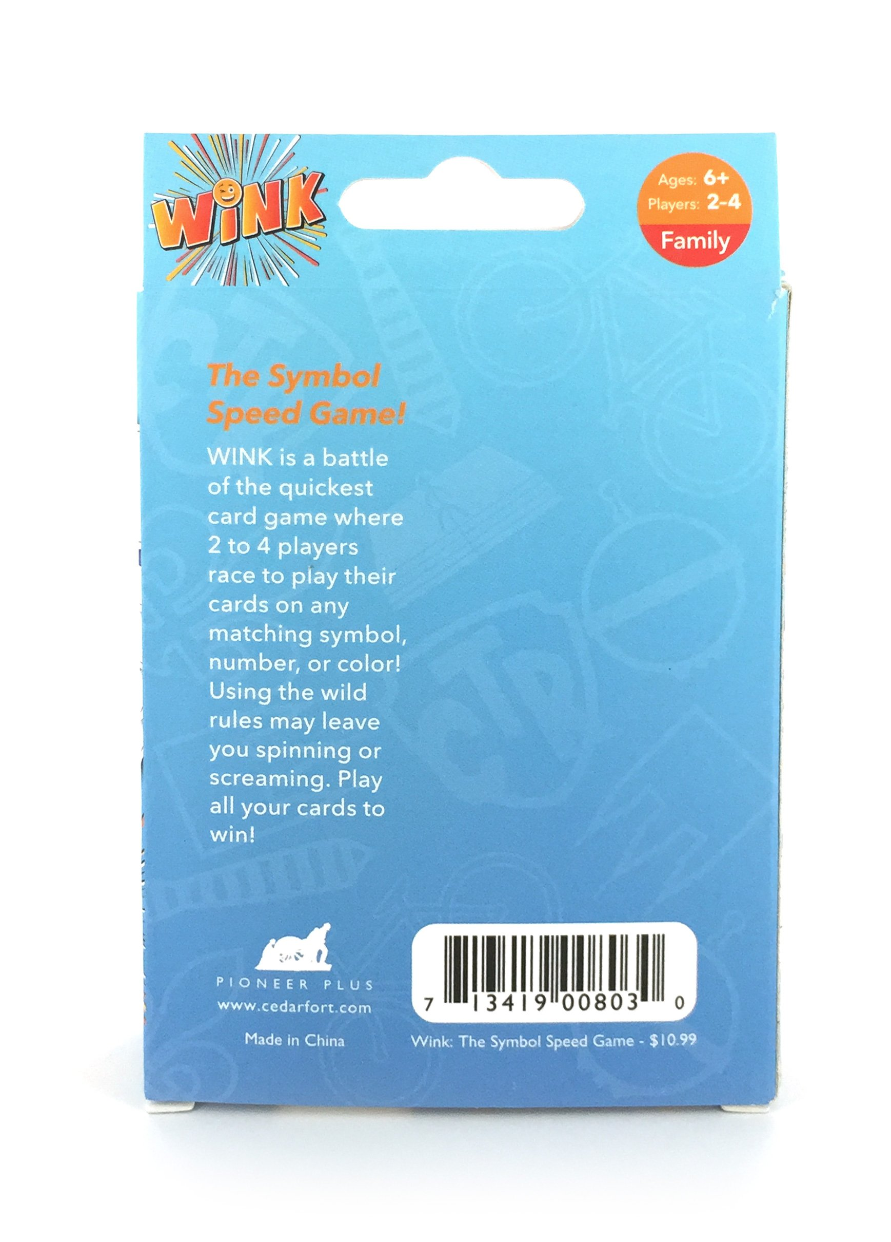 Wink The Symbol Speed Card Game