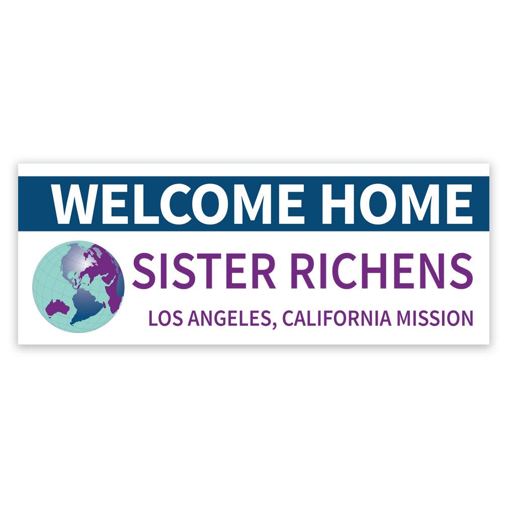 World Missionary Banner - LDP-MSPST245