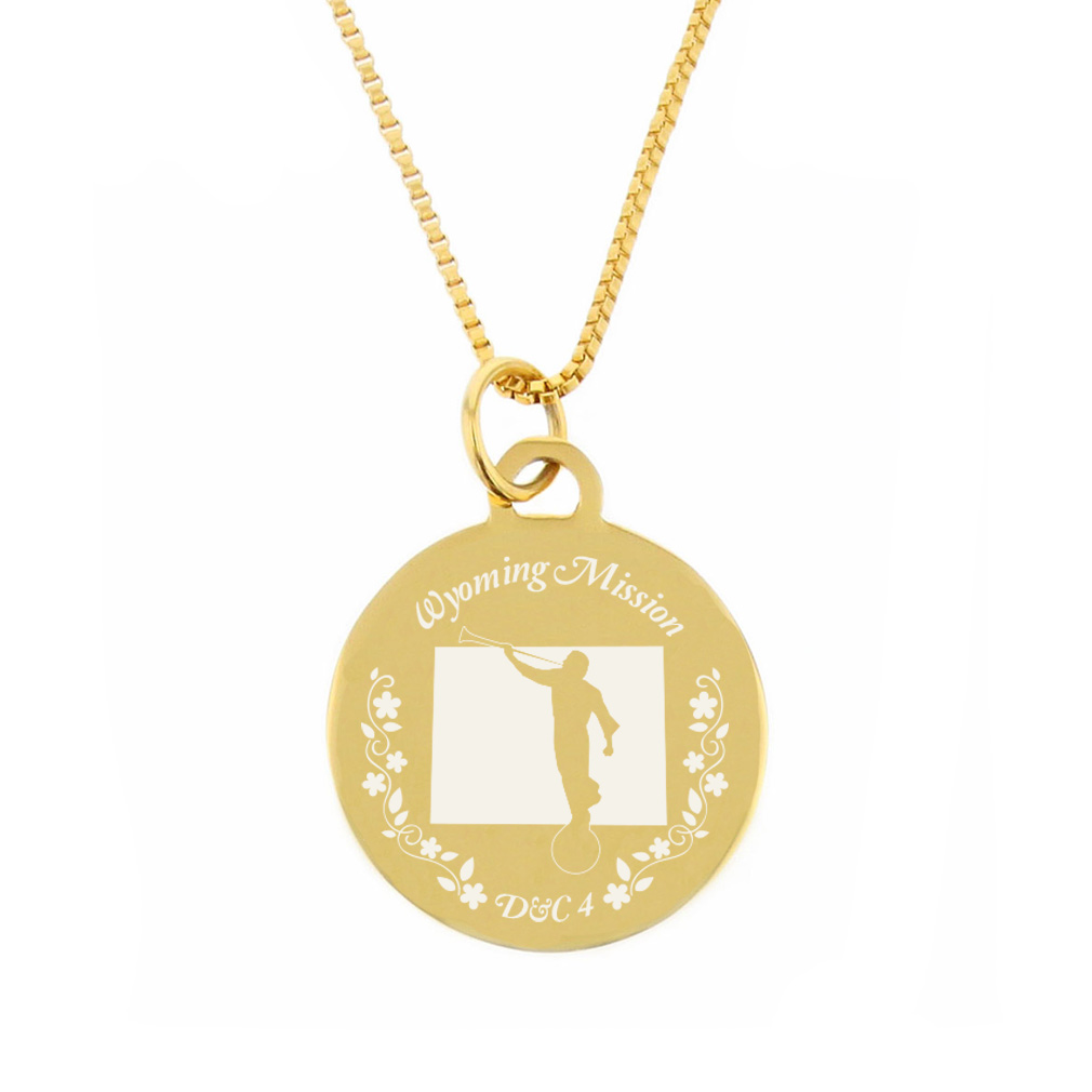 Wyoming Mission Necklace - Silver/Gold - LDP-CPN89