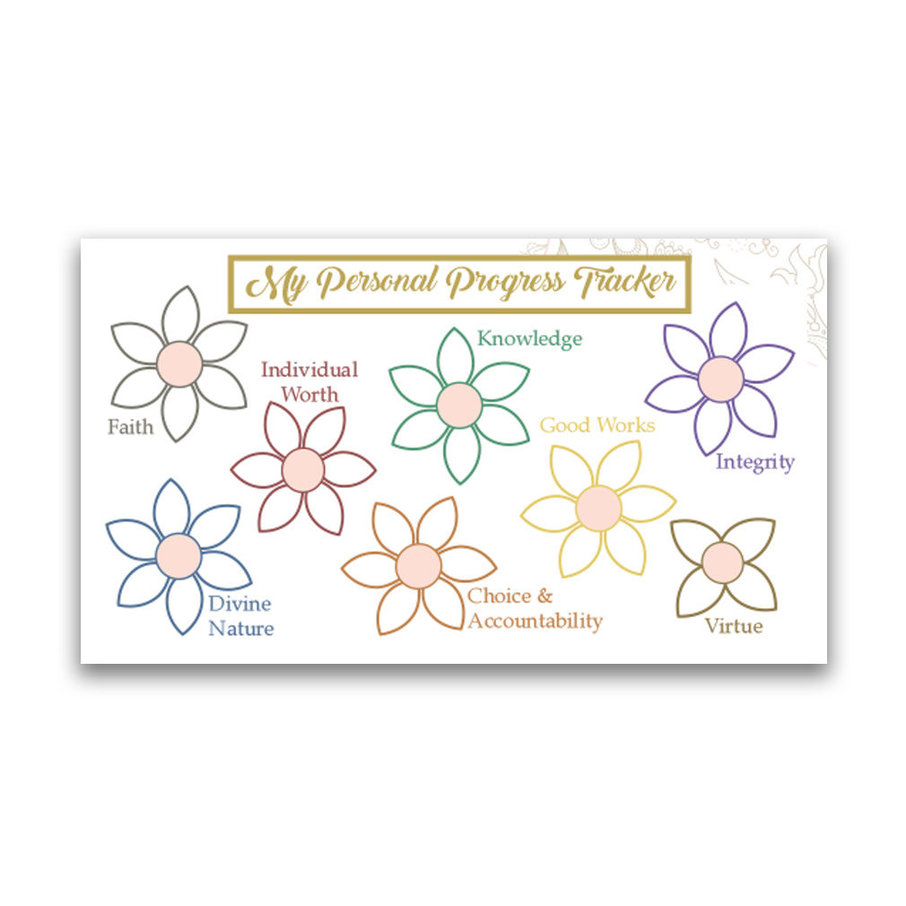 Young Women Values Pocket Card - LDP-PKC323