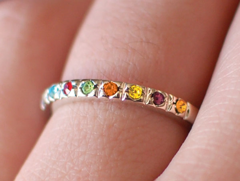 Young Women Values Ring - CF-P7006