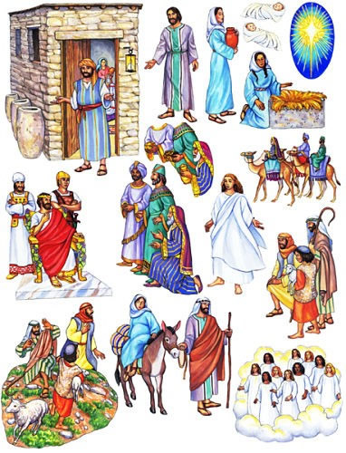 birth of jesus felt story in felt boards ldsbookstore LDS Coloring Pages LDS Clip Art