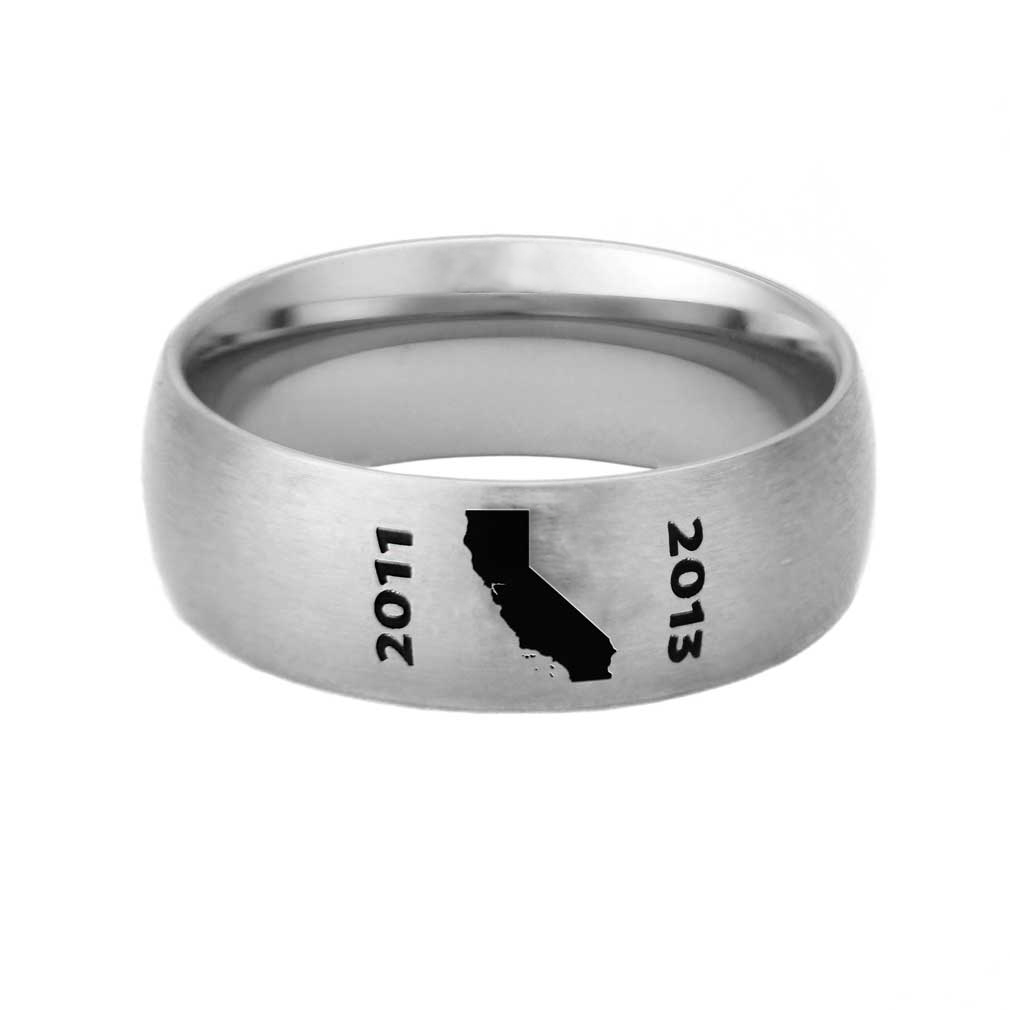 Custom LDS Mission Ring - LDP-RNGB15C