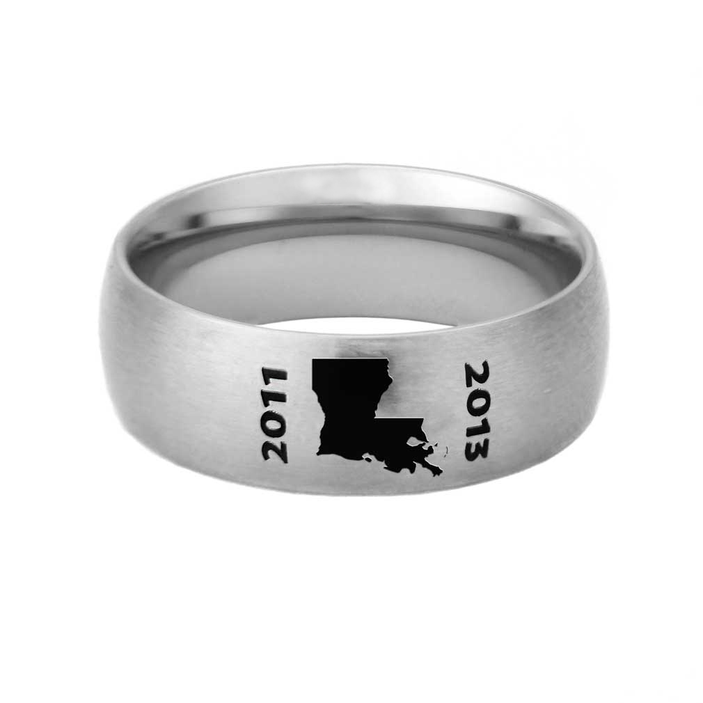 Louisiana Mission Ring