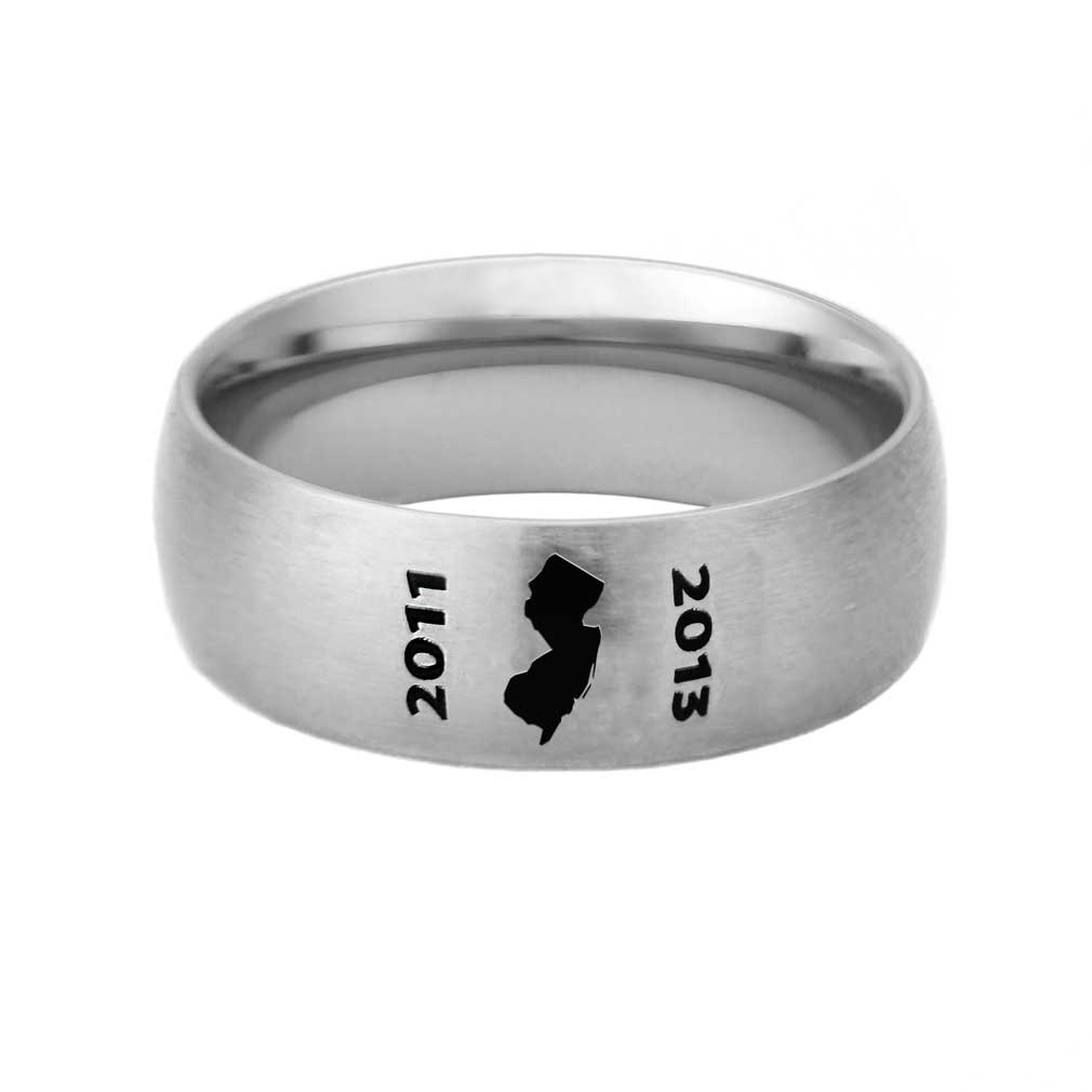 New Jersey Mission Ring