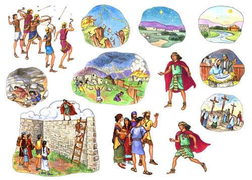 samuel the lamanite felt story in felt boards