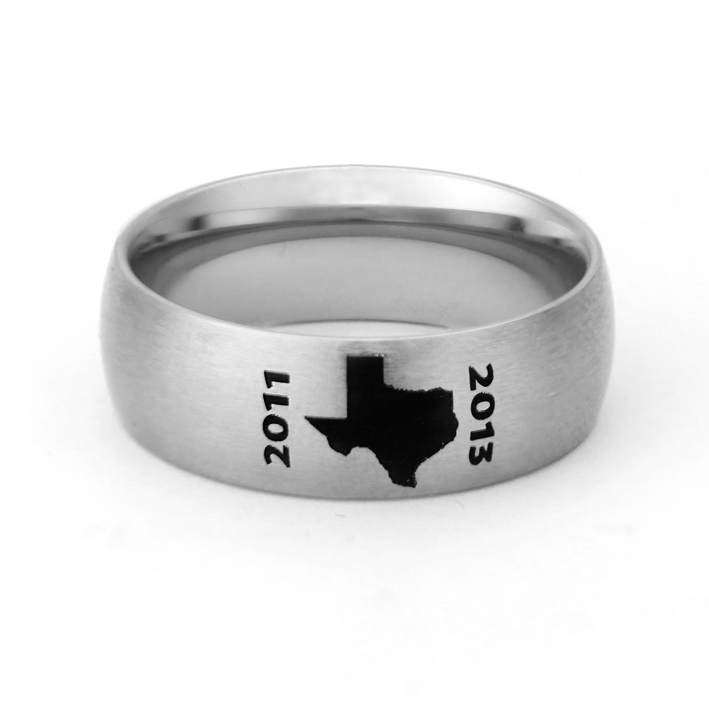 Texas Mission Ring
