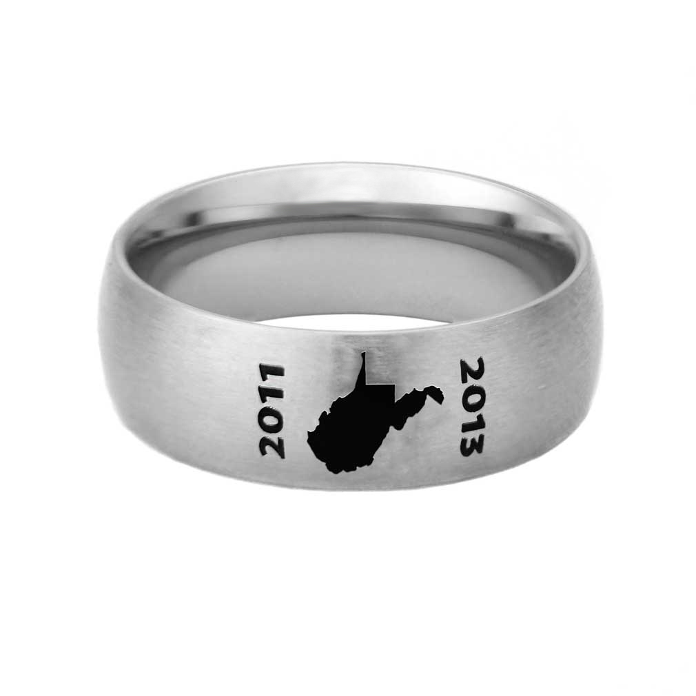West Virginia Mission Ring