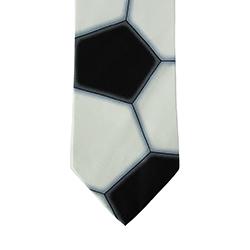 Silk Soccer Ball Tie