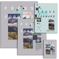 Press Forward Youth Theme Pack - Printable