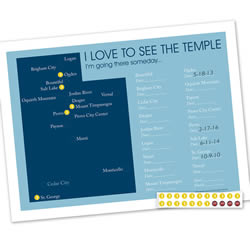 Utah Temple Map - LDP-PST25229