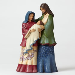 "Jim Shore ""Reason"" Holy Family Nativity"