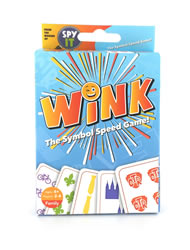 Wink: The Symbol Speed Card Game wink, wink game, card game, lds card game, speed game