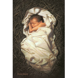For Unto Us A Child Is Born - Print