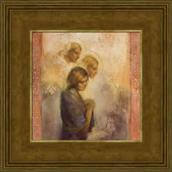 Angels Among Us - Framed