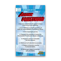 Purposes of the Aaronic Priesthood Pocket Card