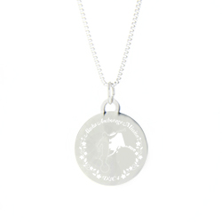 Alaska Mission Necklace - Silver/Gold alaska lds mission jewelry