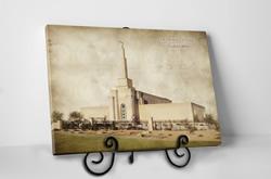 Albuquerque Temple - Vintage Tabletop