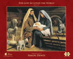 For God So Loved The World Puzzle