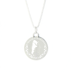 Argentina Mission Necklace - Silver/Gold argentina mission jewelry, argentina necklace