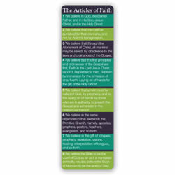 Articles of Faith Bookmark