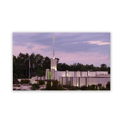 Atlanta Georgia Photo Dusk Temple Recommend Holder