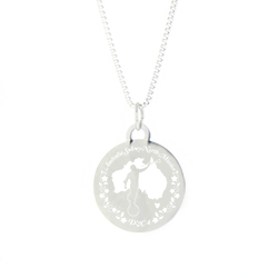 Australia Mission Necklace - Silver/Gold