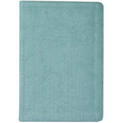 Stitched Temple Journal - Blue