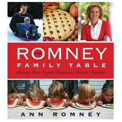 Romney Family Table Cookbook