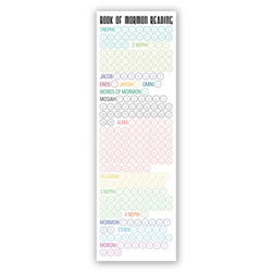 Book of Mormon Reading Chart Bookmark - Small - Printable book of mormon reading chart, lds reading chart, lds bookmark, book of mormon reading chart bookmark, large lds reading chart bookmark, large lds bookmark