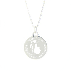 Baltic Mission Necklace - Silver/Gold Baltic lds mission jewelry, Baltic mission