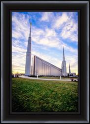 Boise Temple Front - Framed