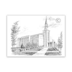 Boston Massachusetts Temple Recommend Holder
