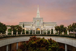 Bountiful Utah Temple - Fall Atrium