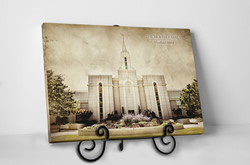 Brigham City Temple - Vintage Tabletop