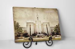 Brigham City Temple - Vintage Tabletop