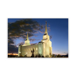 Brigham City Utah Photo Temple Recommend Holder