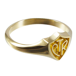 Classic CTR Ring - 14kt Gold