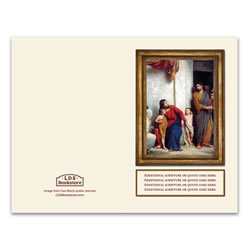 Carl Bloch Christ and Children Program Cover - Printable