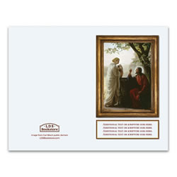 Carl Bloch Woman at the Well Program Cover - Printable