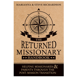 The Returned Missionary Handbook returned missionary, return missionary, rm, r.m.