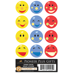 Funny Smiley Face Stickers