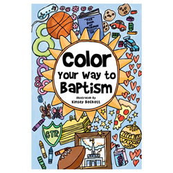 Color Your Way to Baptism - Pamphlet