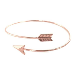 Arrow Bracelet - Rose Gold arrow bracelet, rose gold, rose gold bracelet, arrow, press forward,