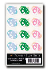 CTR Shield Stickers