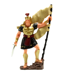 Captain Moroni Figurine - Small