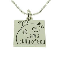 I am a Child of God Necklace